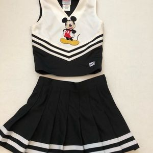 Chasse Mickey Mouse cheerleading outfit XS